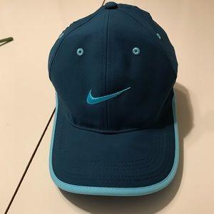 NIKE Legacy91 Tech Golf Hat Blue Teal Adjustable